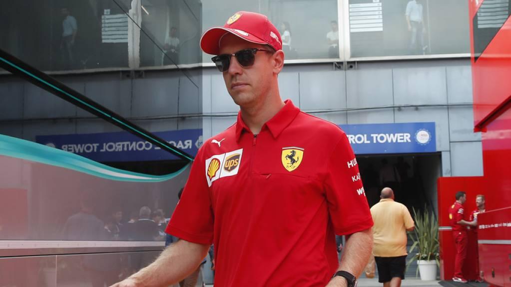 Der deutsche Rennfahrer Sebastian Vettel tut sein Möglichstes für eine saubere Umwelt.