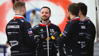 Das Team Schwaller tritt in Peking zum Grand Final des Curling World Cup an.
