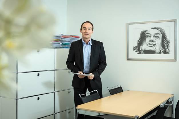 Oliver Kopp ist seit fünf Jahren Finanzvorstand des «Limmi» und übersetzt Zahlen in Worte.