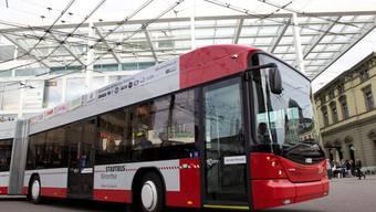 In Winterthur werden die Buslinien 5 und 7 elektrifiziert. Aktuell fahren dort Dieselbusse. (Symbolbild)