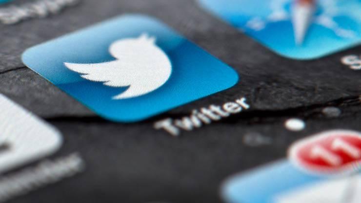 ARCHIV - Das Display eines Smartphones zeigt das Icon des Kurznachrichtendienstes Twitter. Foto: Soeren Stache/dpa