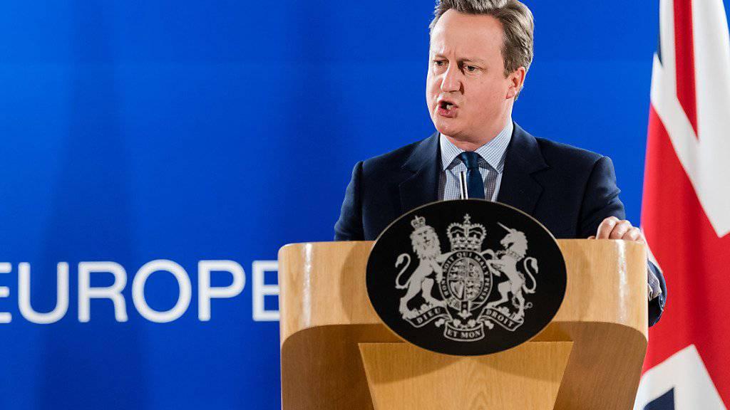 Eine Frau soll den britischen Premier David Cameron ersetzen.