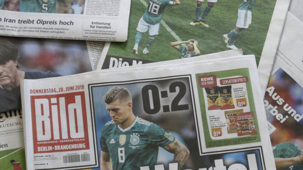 Die deutschen Zeitungen sparen nicht mit Kritik an der DFB-Elf