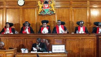 In Kenia gibt es keine erneute Präsidentschaftswahlen. Das hat das Oberste Gericht des Landes entschieden. (Archivbild)