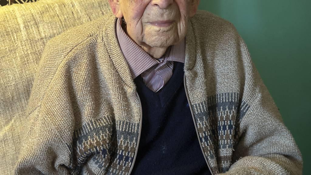 Ältester Mann der Welt in Grossbritannien gestorben