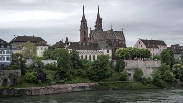 In Basel und anderen Schweizer Grossstädten wird sehr verdichtet gebaut, dafür finden sich dort auch besonders viele Grünflächen.