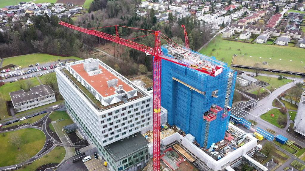 Frauenfeld: Bettenturm wird nach fast 50 Jahren abgebrochen