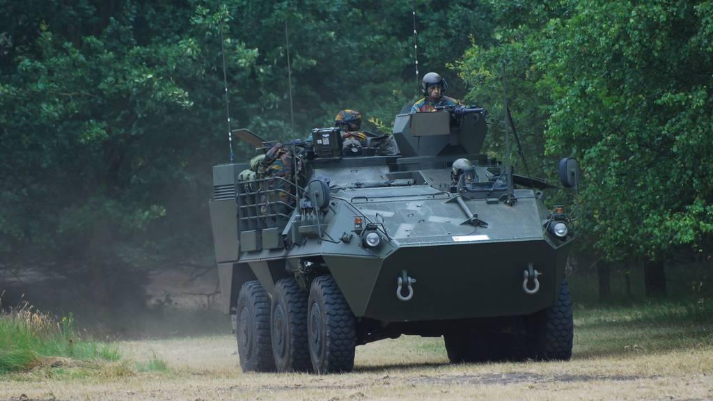Belgien ruiniert seine Panzer mit Hilfe der Ruag