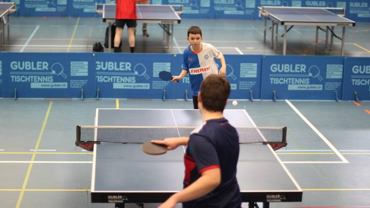 Der Urdorfer Tischtennis-Club lud zum dritten Mal zum Plauschturnier ein.