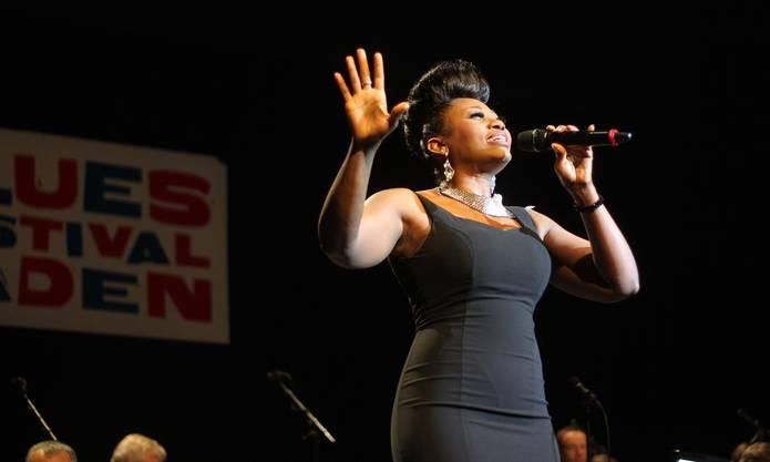 Dorothea Lorene überwältigte das Publikum mit ihrer gewaltigen Stimme