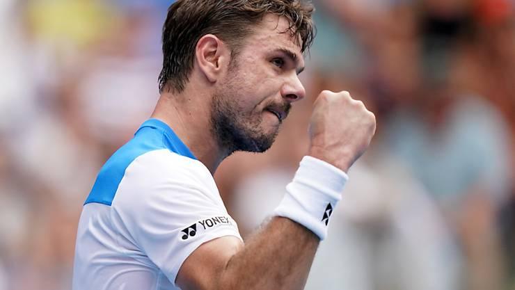 Stan Wawrinka erreichte beim Challenger-Turnier in Prag die Halbfinals (Archivbild)