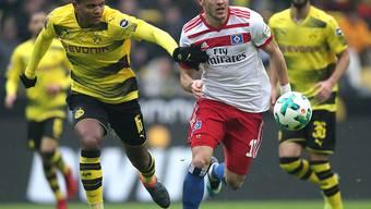 Erfolgreiches Startelf-Debüt für den Schweizer BVB-Innenverteidiger Manuel Akanji