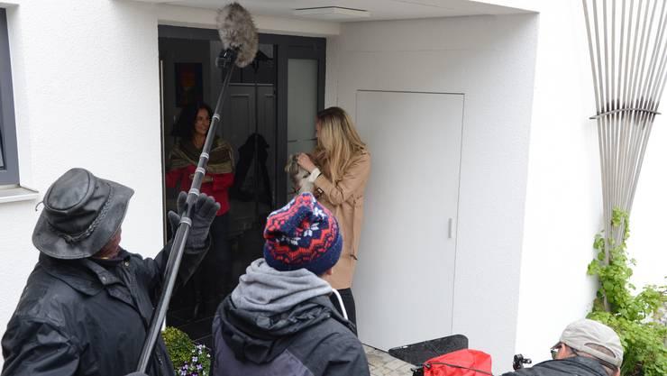 Der Tatort in Rupperswil: Nachgespielt für Aktezneichen xy in der Nähe von München.