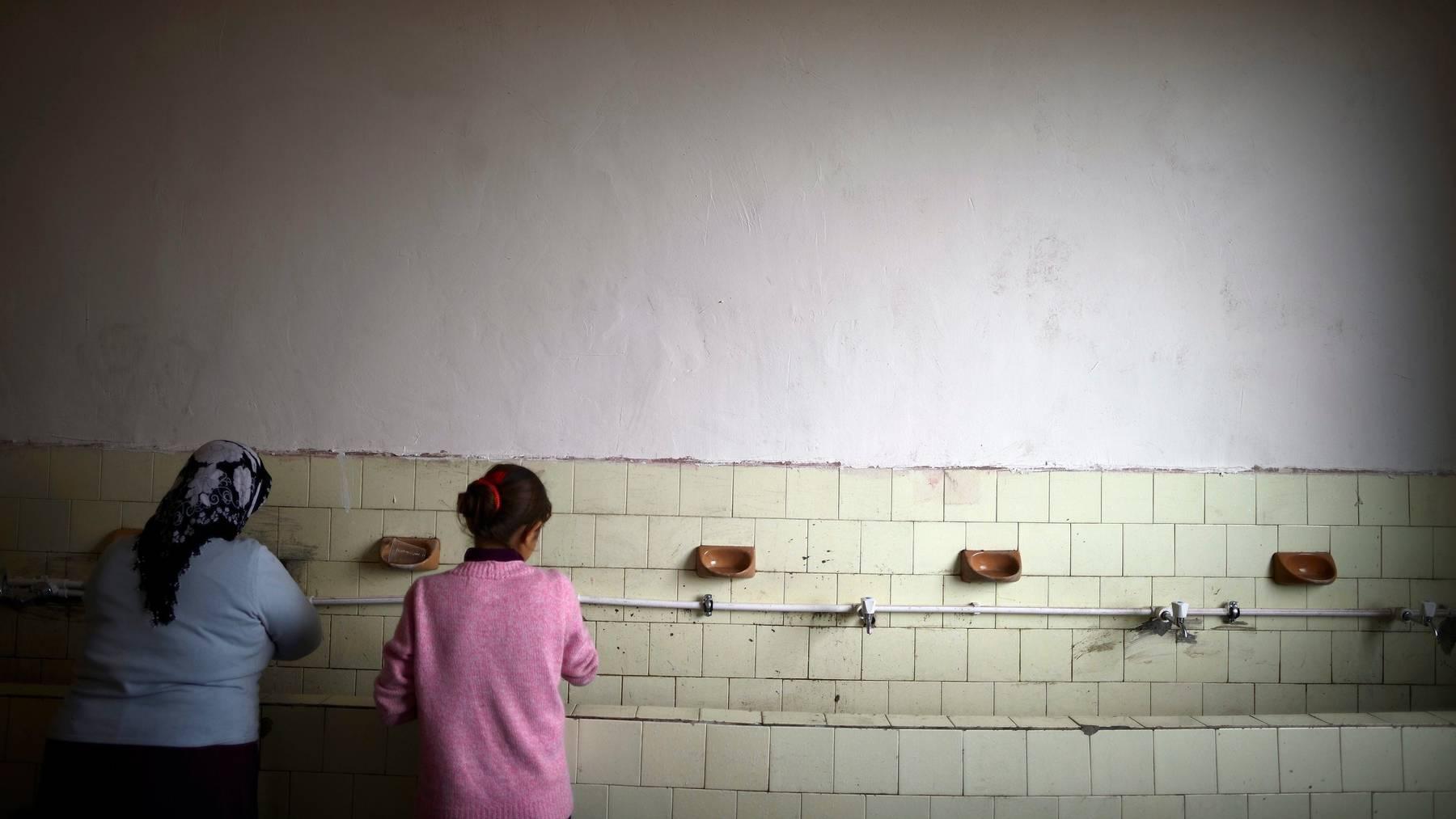 Flüchtlinge leben im Dublin-Land Bulgarien unter schwierigen Verhältnissen.