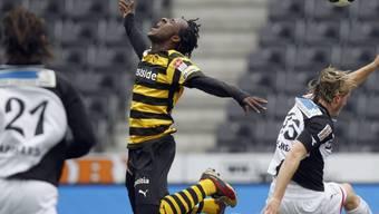Seydou Doumbia war auch gegen Aarau der entscheidende YB-Spieler