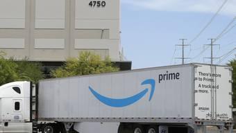 Befindet sich im Liefer-Wettstreit mit dem Konkurrenten Walmart: der US-Onlinehändler Amazon. (Symbolbild)