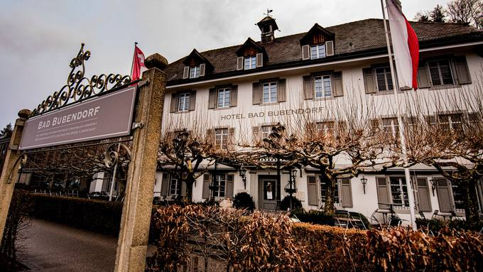 """Das Hotel Bad Bubendorf erlebt gerade turbulente Zeiten. Doch mit dem neuen Chef für die """"Osteria Tre"""" soll wieder Ruhe einkehren."""
