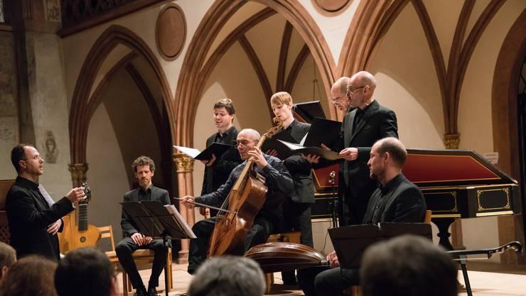 Die Freunde Alter Musik Basel spielen Werke von Ludwig Senfl