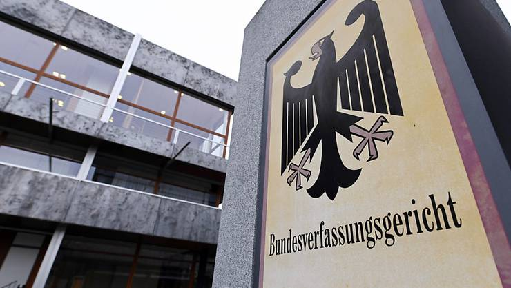 ARCHIV - Das Bundesverfassungsgericht in Karlsruhe. Foto: Uli Deck/dpa