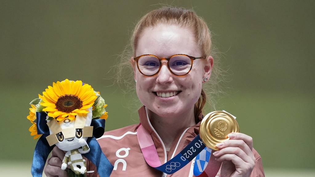 Gold für Schützin: Nidwaldnerin Nina Christen ist Olympiasiegerin