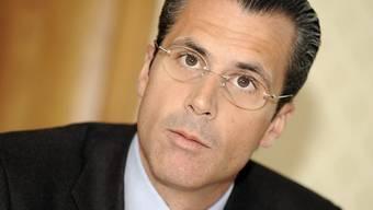 """Philippe Gaydoul in einer Aufnahme vom Oktober 2009: Der Unternehmer bezeichnet Aussagen, wonach der Frankenschock überwunden ist, als """"Schönfärberei"""". (Archivbild)"""