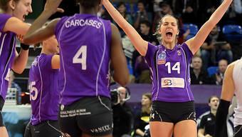 Erlösender Sieg für Volero Zürich und Karla Klaric (14)