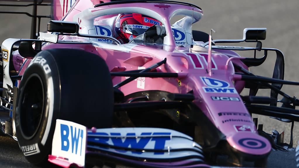 Stein des Anstosses: Die Autos des Formel-1-Teams Racing Point