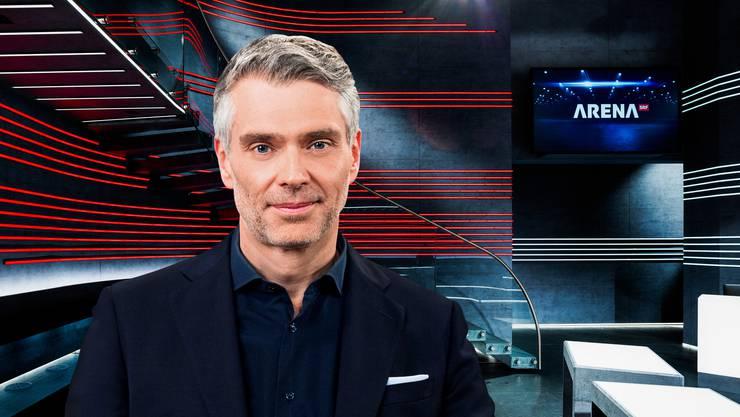 Sandro Brotz (49) wird neuer «Arena»-Moderator. Im Mai wird er das erste Mal in dieser Rolle zu sehen sein.