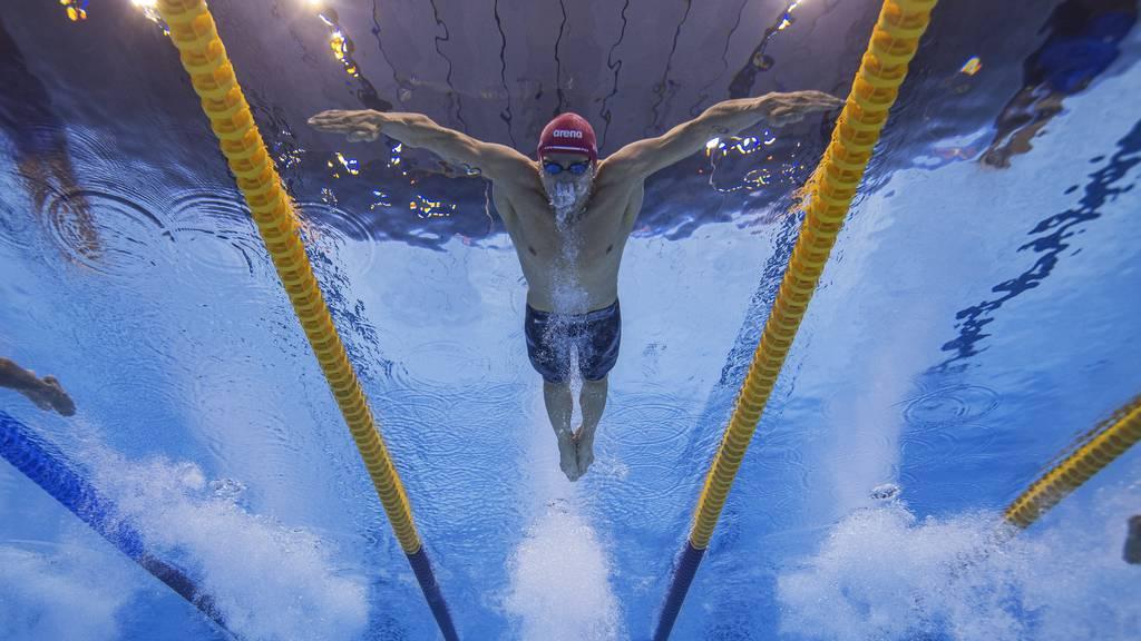 Erste Schweizer Schwimm-Medaille seit 1984: Desplanches holt Bronze