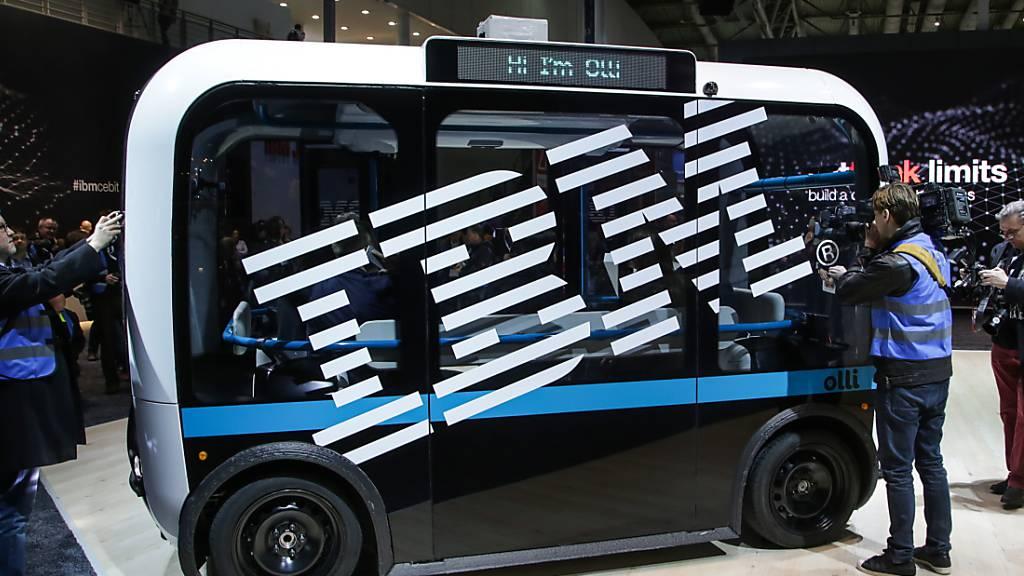 IBM hat im dritten Geschäftsquartal eine markante Umsatzsteigerung beim Cloud-Geschäft verzeichnet. (Archivbild)