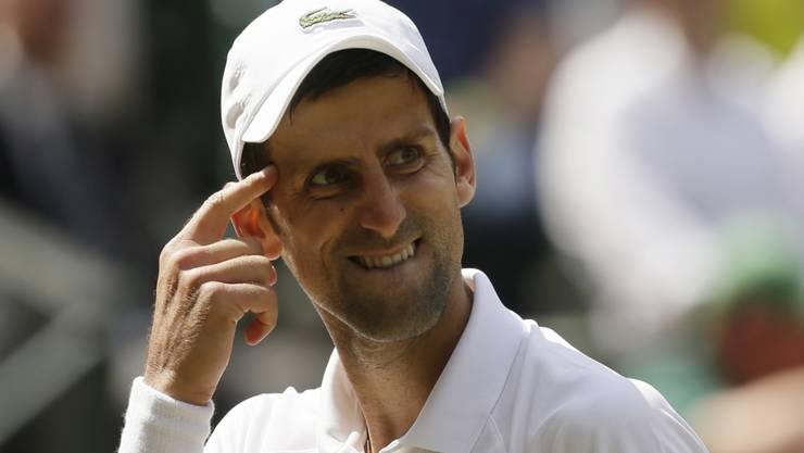Eines Sache des Kopfes: Novak Djokovic gewann gegen Kei Nishikori zehn der letzten zwölf Games und steht im Halbfinal