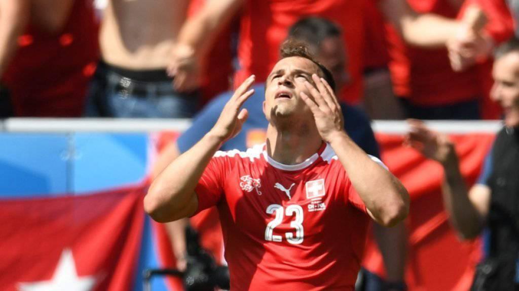 Xherdan Shaqiri steht dem Schweizer Nationalteam im ersten WM-Qualifikationsspiel nicht zur Verfügung
