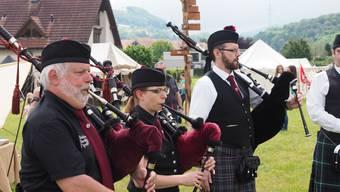 Impressionen von den «Highland Games» des TV Wallbach