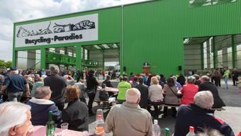 Eröffnung «Recycling-Paradies» Hunzenschwil