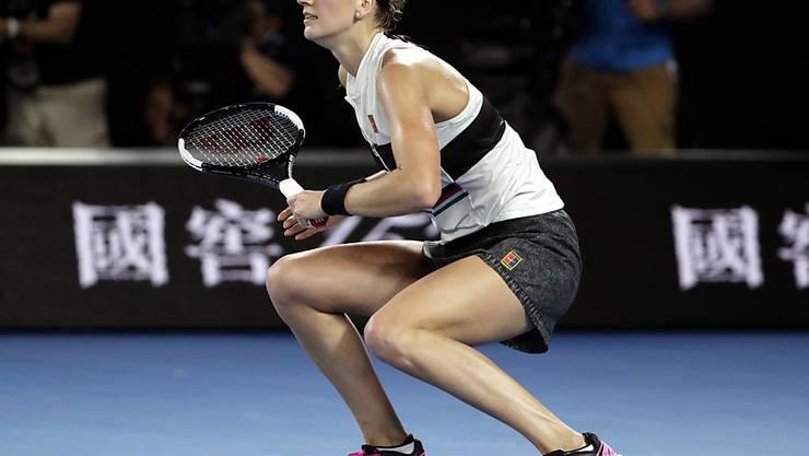 In Melbourne bislang unantastbar: Petra Kvitova erreichte den Australian-Open-Final ohne einen Satz abzugeben