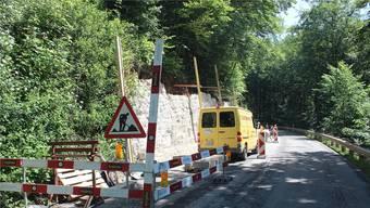 Die beiden Mauern erhalten neue, wetterfeste Natursteine. Damit soll die Sicherheit verbessert werden.