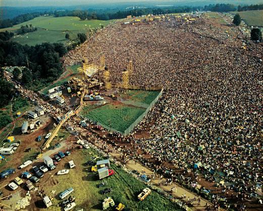 Eine halbe Million Menschen versammelte sich auf dem Gebiet der Gemeinde Bethel vor den Toren New Yorks.