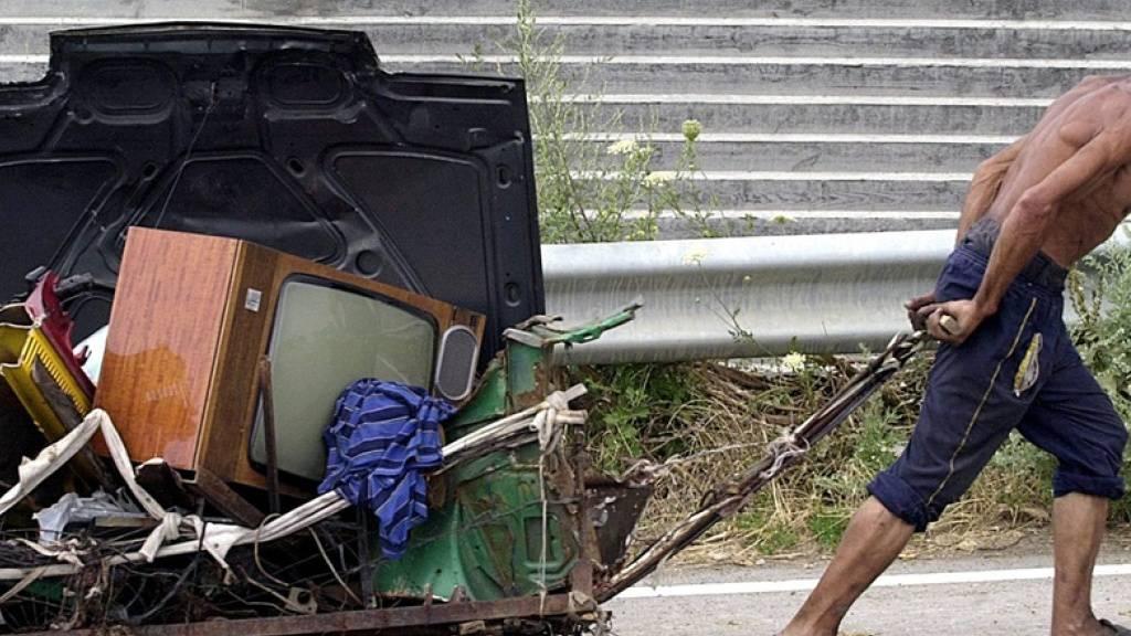Armutsgefährdung in EU weiter rückläufig: 21,7 Prozent betroffen