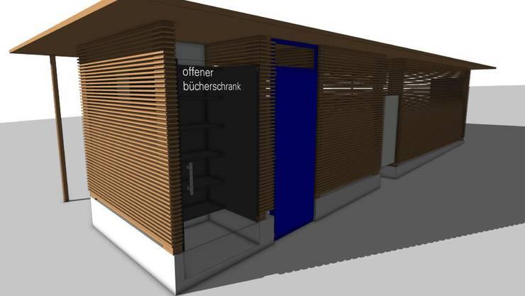 Projektzeichnung von Architekt Remo Bill