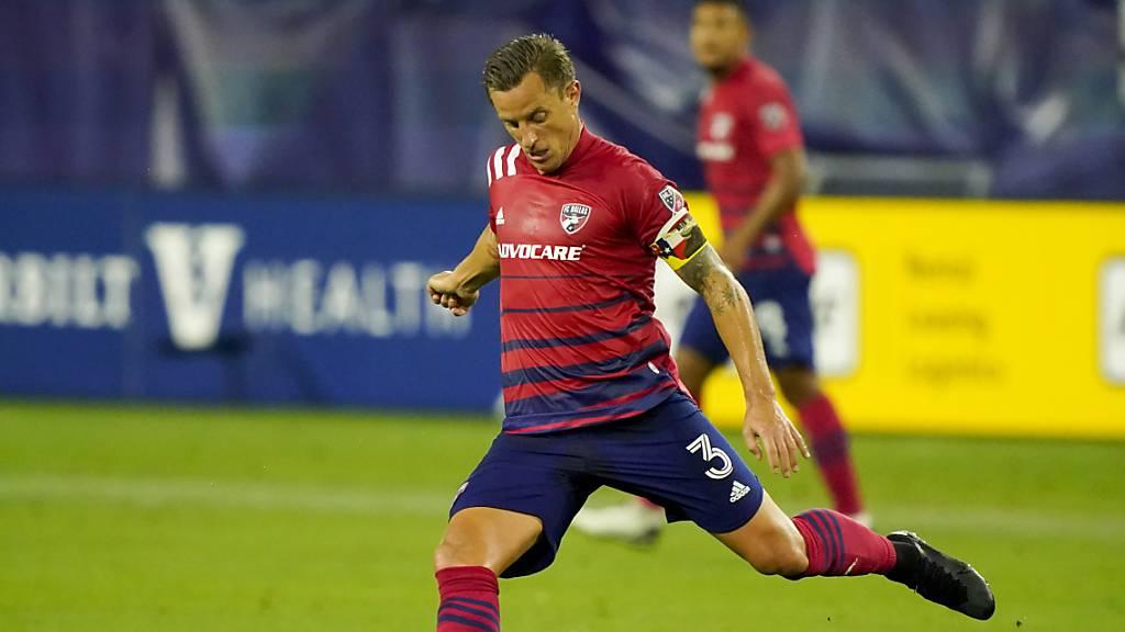 Kurzer, aber entscheidender Einsatz für den FC Dallas: Captain Reto Ziegler.
