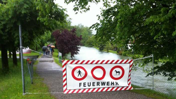 Hochwasserschutz in Sarnen schreitet voran