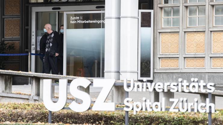 Finanzielle Unterstützung erhält auch das Universitätsspital Zürich.