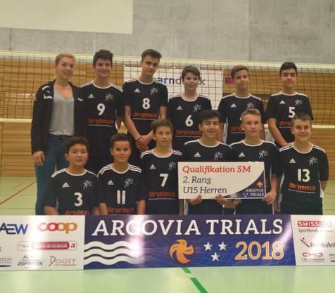 U15 - Volley Schönenwerd - 2. Platz