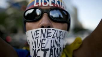 Proteste in Caracas.