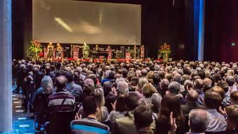 Bis zu 800 Besucher finden pro Anlass im Campussaal Platz. (Archiv)
