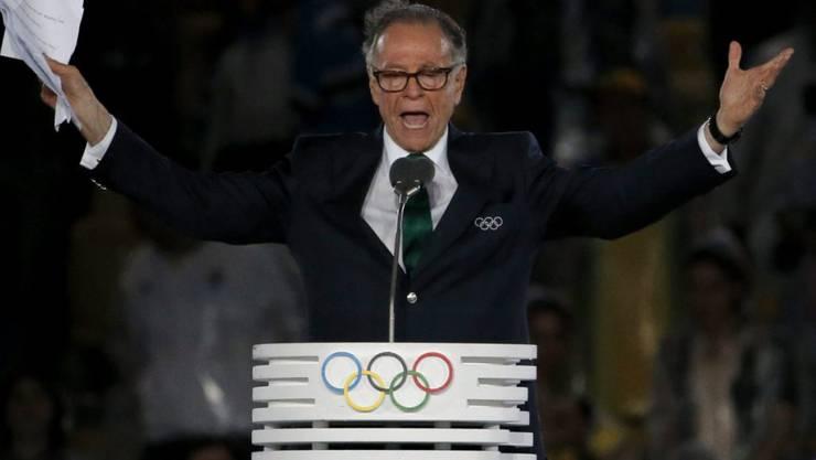 Carlos Arthur Nuzman, OK-Chef der Olympischen Spiele 2016 in Rio, steht im Zusammenhang mit der Olympia-Vergabe unter Korruptionsverdacht