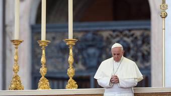 Papst Franziskus plädiert für «Gleichgewicht»