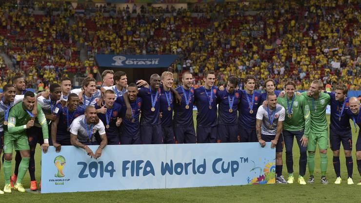 Die Holländer bezwangen Gastgeber Brasilien 3:0