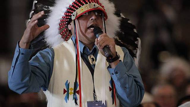 Indianer hoffen auf echten Dialog mit Washington