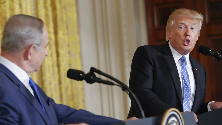 Benjamin Netanjahu hat sich mit Donald Trump getroffen. (Archiv)